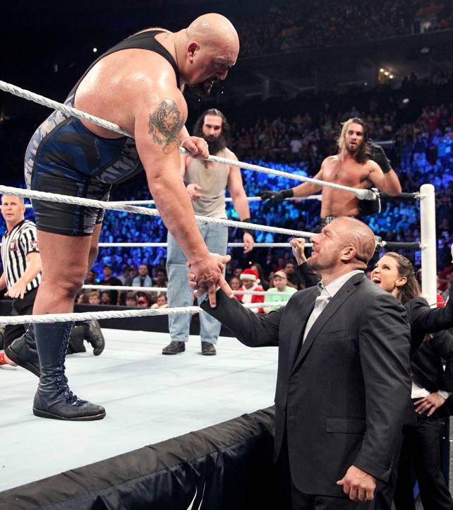 Sacando la rivalidad con Strowman, lo último relevante que hizo Paul Wight en WWE.