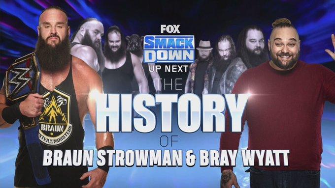 Bray Wyatt y Braun Strowman la rivalidad principal de SmackDown.