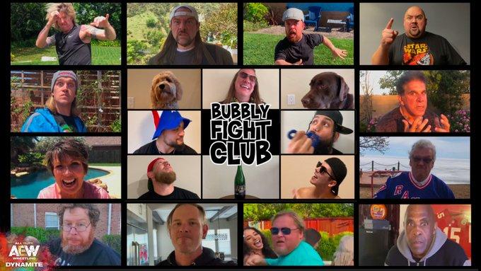 Bubbly Fight Club en Dynamite.