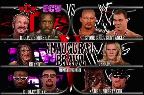 WCW-ECW vs WWF en Invasion 2001