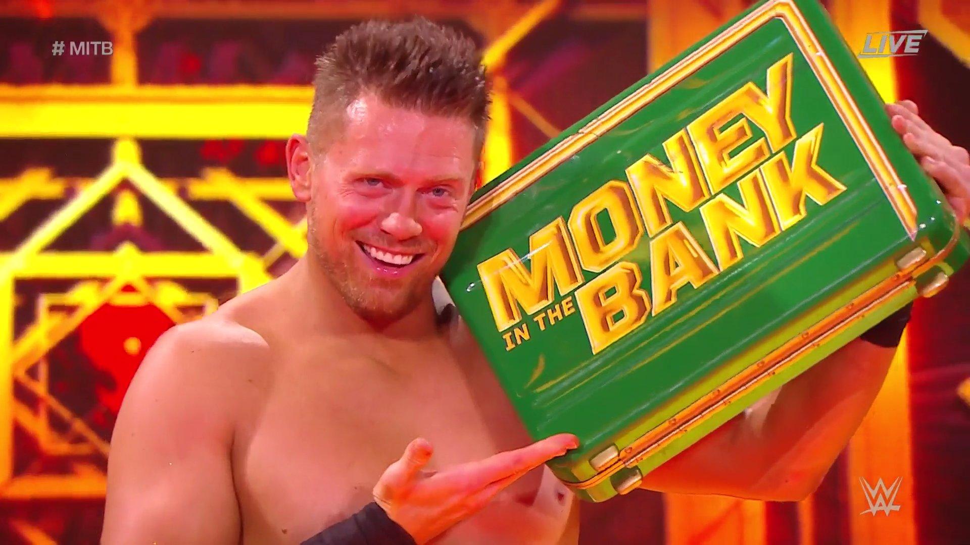 The Miz es el nuevo Mr. Money in the Bank gracias a Tucker - DOS DOS SOLO  DOS