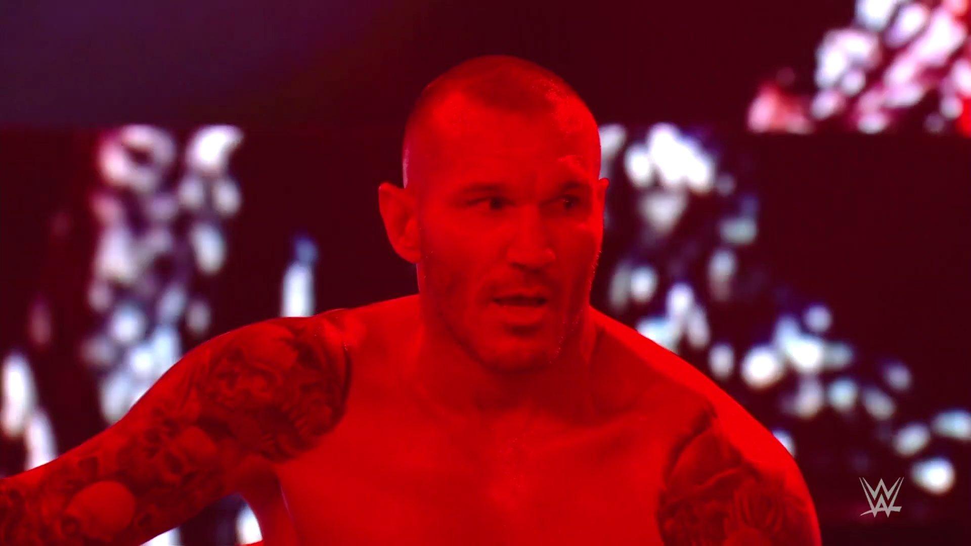 Randy Orton resultados RAW