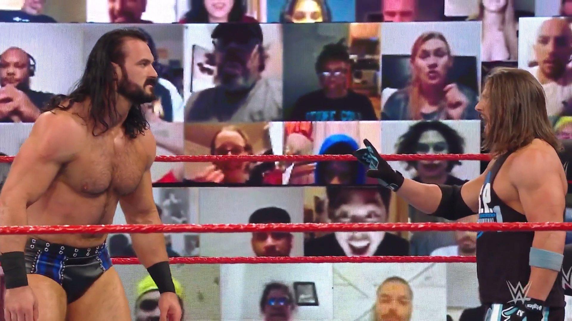 Resultados Monday Night Raw 30.11.2020