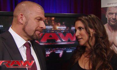 Triple H y stephanie mcmahon wwe