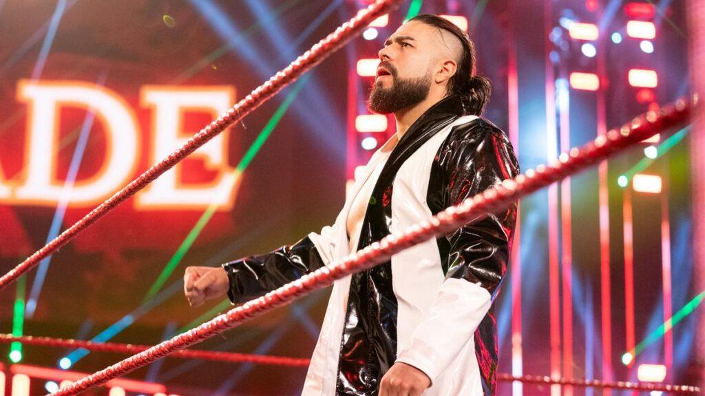 Andrade, un desaprovechado por WWE.