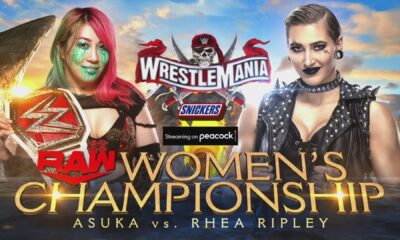 asuka vs rhea ripley wwe