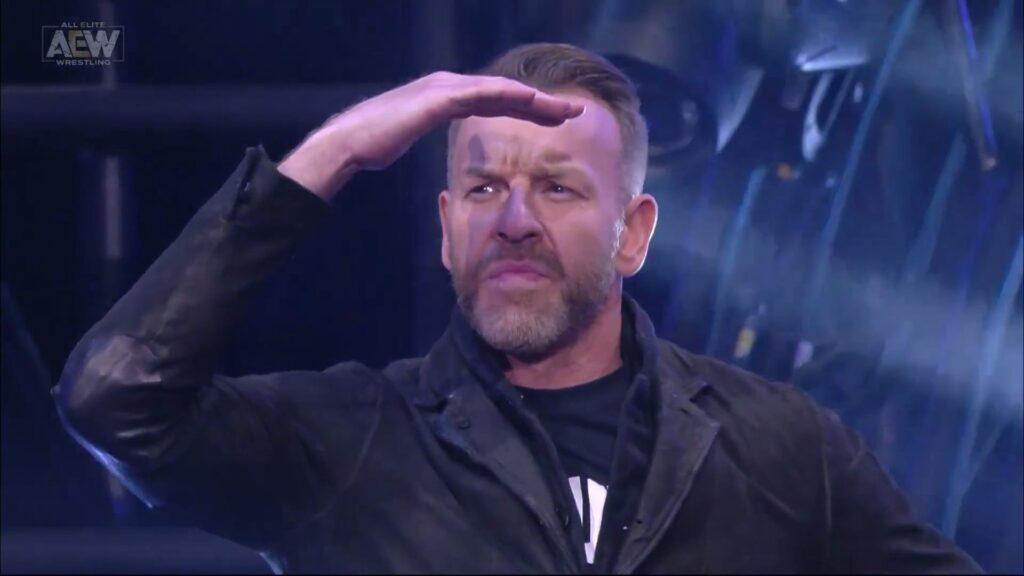 Christian en su debut en AEW.