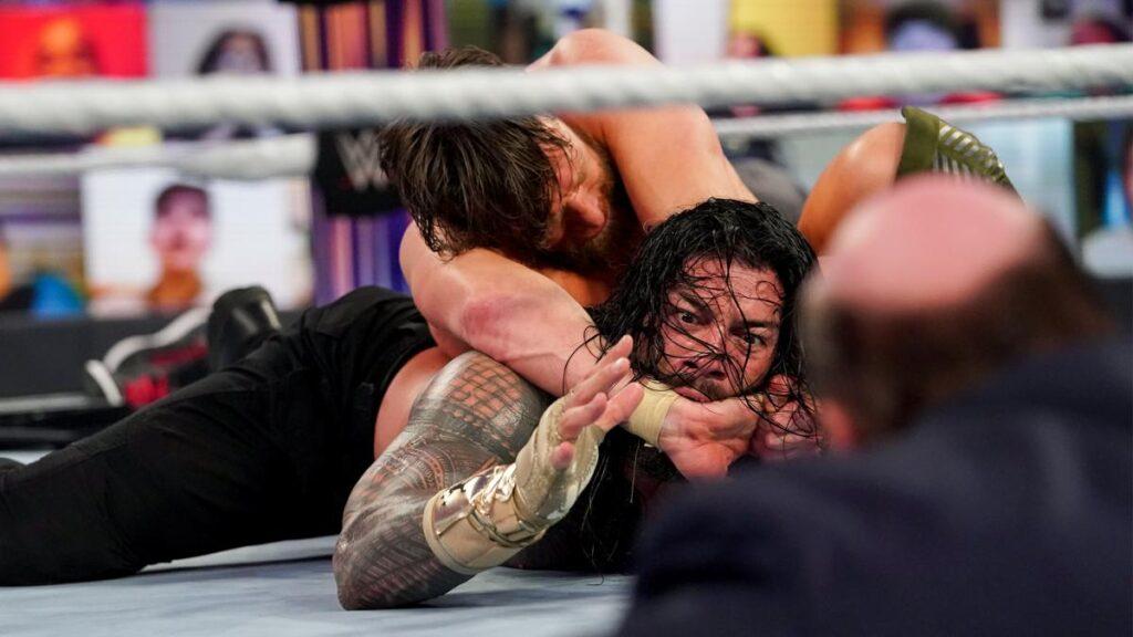 Hoy en el wrestling con el main event de ayer.