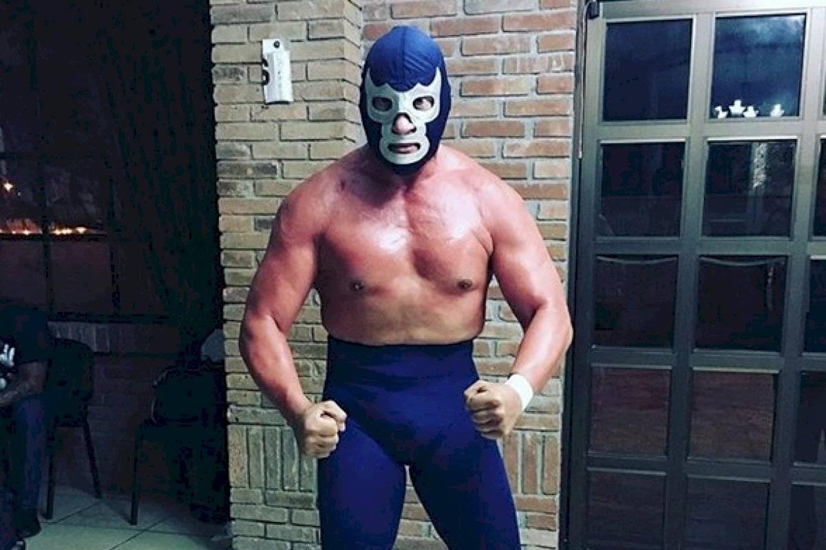 Blue Demon Jr. es acusado por maltrato