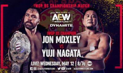 aew dynamite jon moxley vs nagata