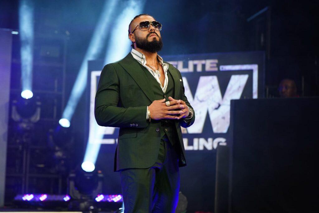 Se acerca el debut in ring de Andrade.