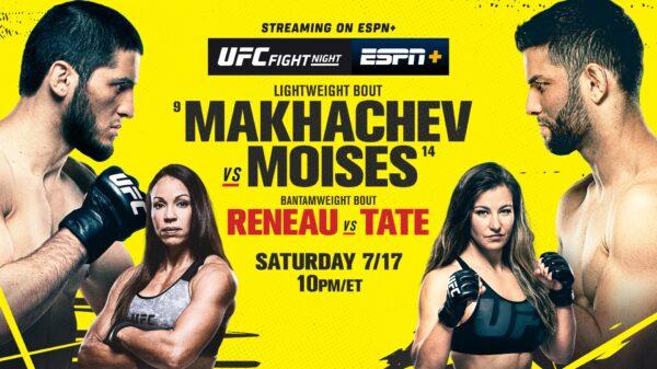 UFC Fight Night Makhachev vs. Moises
