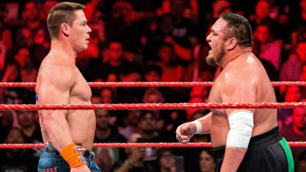 Samoa Joe John Cena