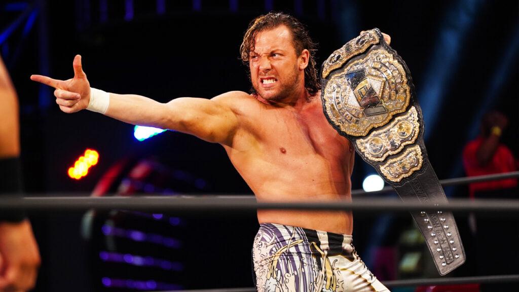 kenny omega actual campeón de AEW.